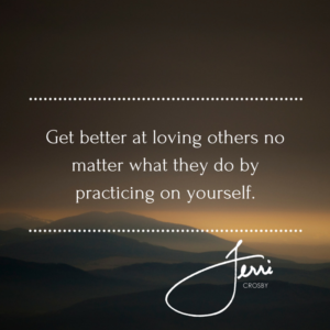 Get better at loving others