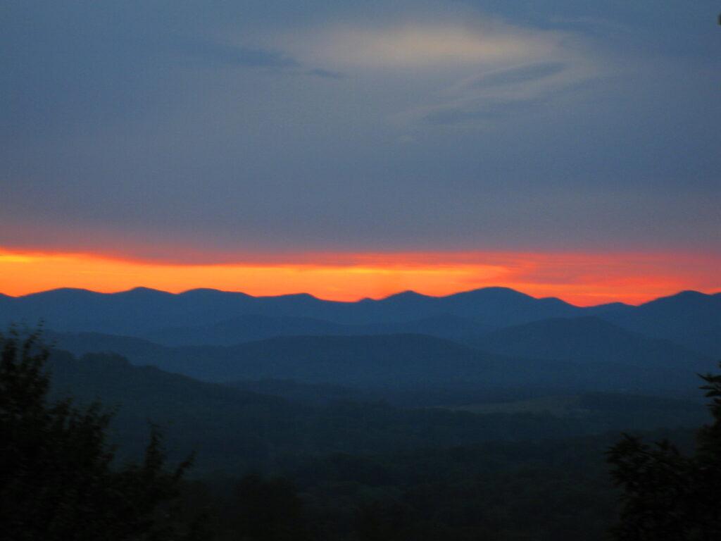 Ribbon Sunset 2